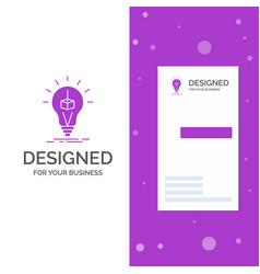 Business logo for 3d cube idea bulb printing box vector