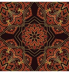 Dark pattern of mandala vector