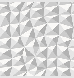 grey geometric seamless pattern from triangles vector image