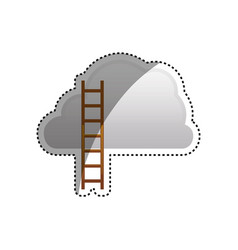 ladder to heaven vector image