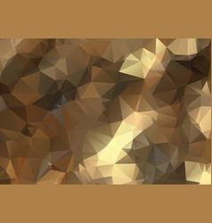 low poly background in pastel colors triangle vector image
