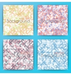 Stock Set abstract background vector image
