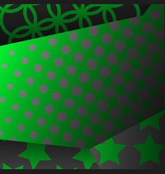 Contemporary geometric backdrop in pop art vector