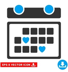 Favourite Days Eps Icon vector