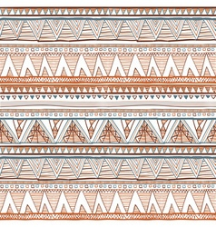 Geometric ethnic seamless pattern Abstract aztec vector