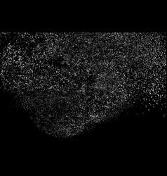 Grainy texture black vector