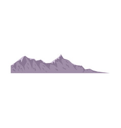 Mountain peak nature high image vector