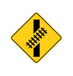 usa traffic road signs you are approaching vector image