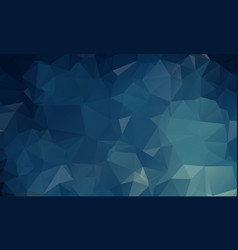 dark blue polygonal which consist of triangles vector image