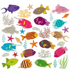 Fish2 vector image