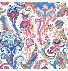 Indian motive ethnic ornamental wallpaper big vector