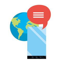 online education school vector image