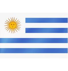 Uruguay flag national uruguanian symfol for of vector
