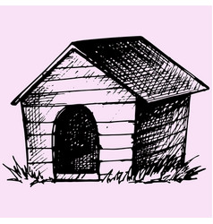 doghouse vector image
