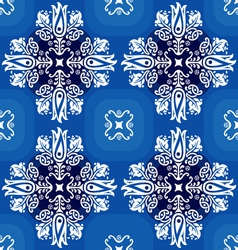 white ornament vector image