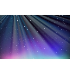 Background design with blue sky at night vector image vector image