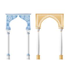 Architectural columns vector