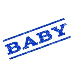 Baby Watermark Stamp vector