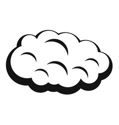 Cloud icon simple style vector