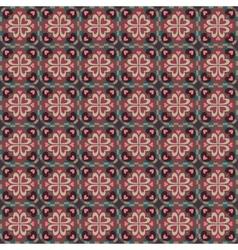 decorative ethnic love heart pattern vector image vector image