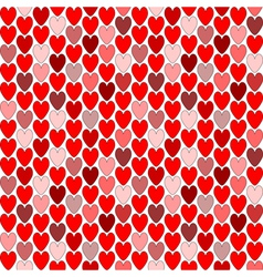 Design seamless heart Valentines Day background vector image