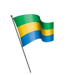 gabon flag vector image
