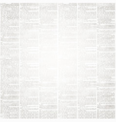 newspaper paper background with space for text vector image