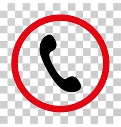 Phone Rounded Icon vector image