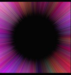 Purple abstract hypnotic starburst background vector