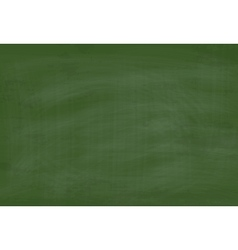 School Green Chalkboard Textured Background vector image