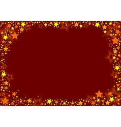 Stars And Red Background vector
