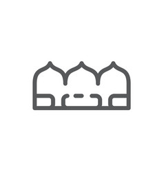 tiramisu editable icon - sweet vector image