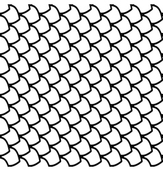 Seamless fish scales pattern vector image vector image