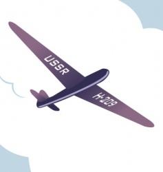 spy plane vector image
