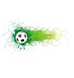 football banner vector image