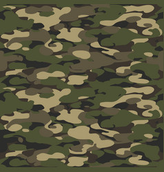 forest texture background seamless camouflage vector image