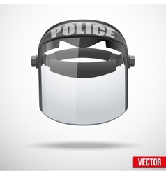 Police protect mask vector