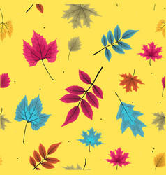 abstract seamless pattern background with falling vector image
