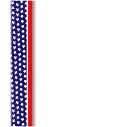 american flag design element frame vector image