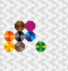 Background ambrela vector image