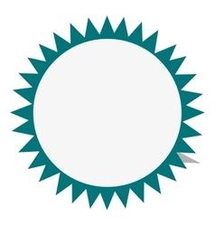 circular badge icon vector image