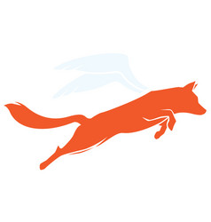 flying fox vector image