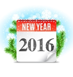 New Year Calendar vector image