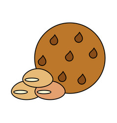 Pastry related icon image vector