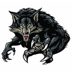 Werewolf Mascot vector image