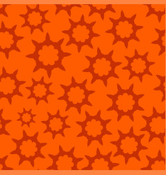 orange seamless looped pattern vector image vector image