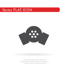 respirator icon for web business finance and vector image