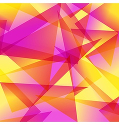 yellow red Fractal Abstract Background in vector image vector image