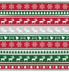 Seamless Christmas background11 vector image