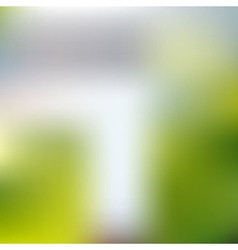 Abstract blurred unfocused bokeh day background vector